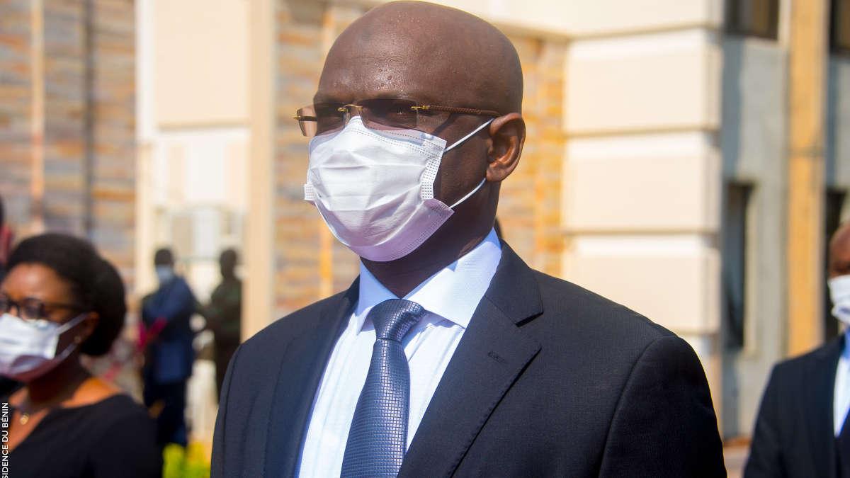 Le ministre Adambi - Photo : PR Bénin