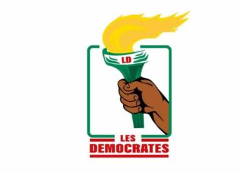 """Logo du parti """"Les Démocrates"""""""