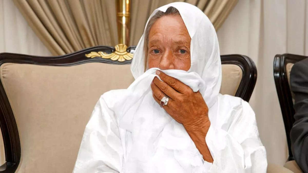 Sophie Petronin (photo de la Présidence malienne / AP)