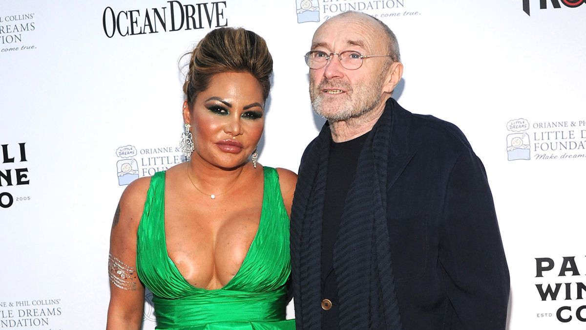 Phil Collins et son ex (Getty Images)
