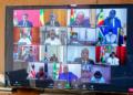 Sommet virtuel de la CEDEAO - Photo : Présidence Benin