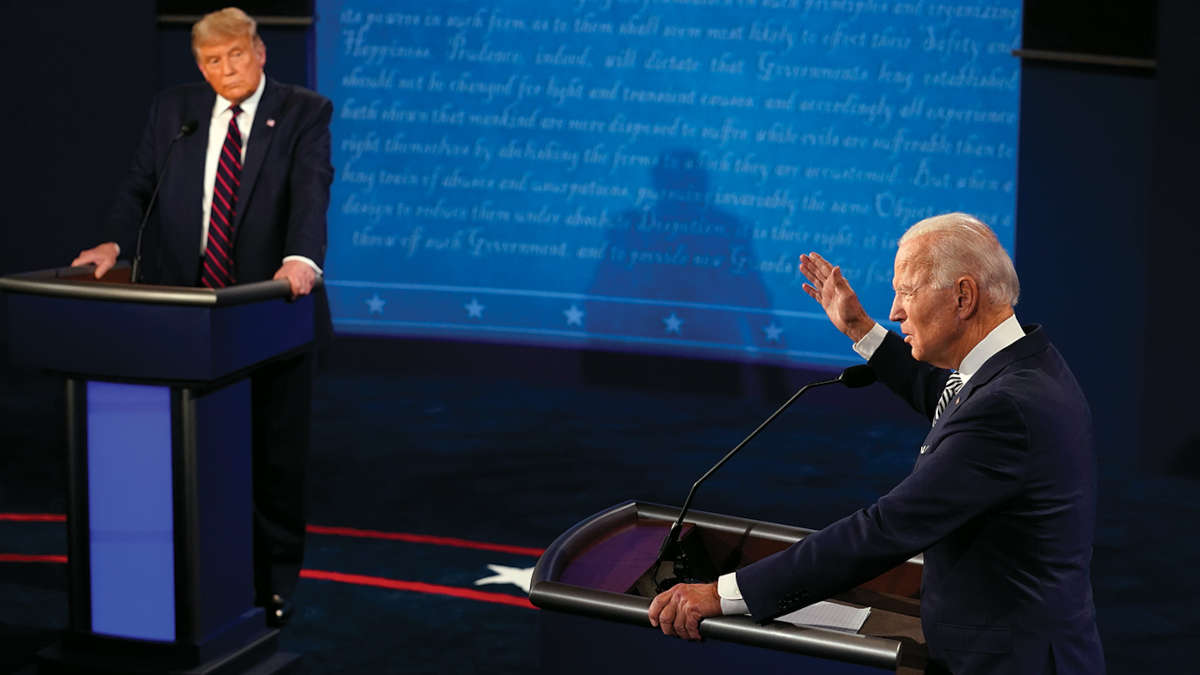 Débat Trump - Biden  du 29 Spetembre (Morry Gash-Pool/Getty Images)