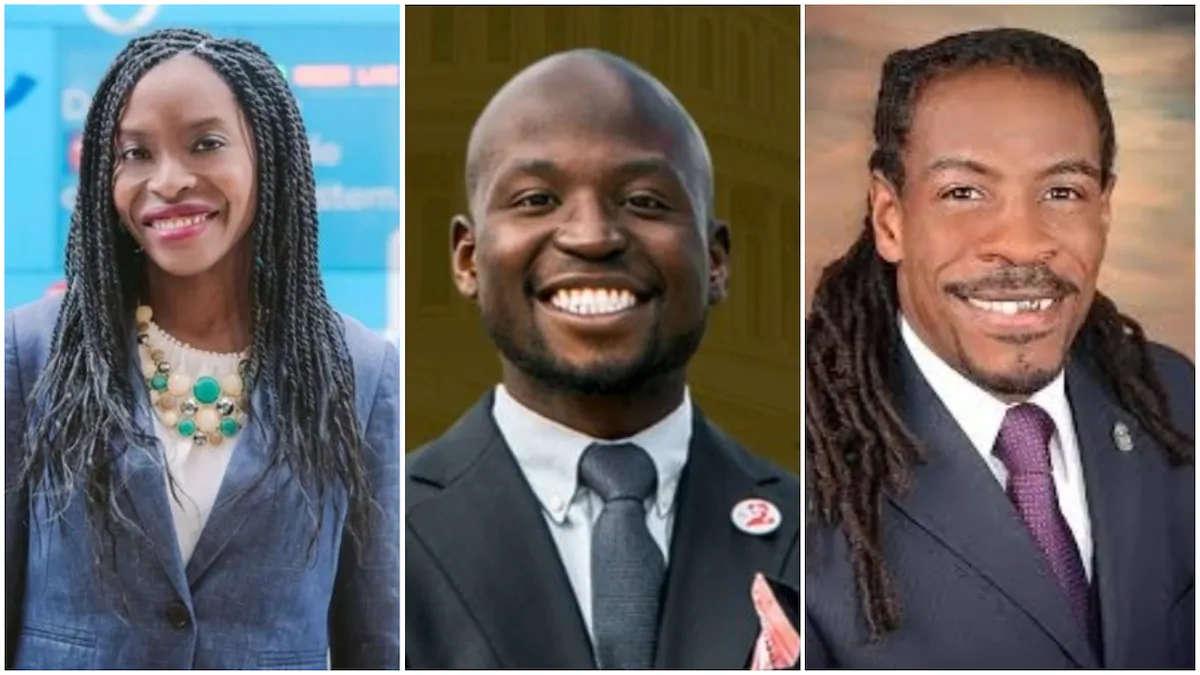 Trois Nigérians-Américains ont remporté leurs sièges. Crédits photo: BBC, Sahara Reporters et Nairametrics