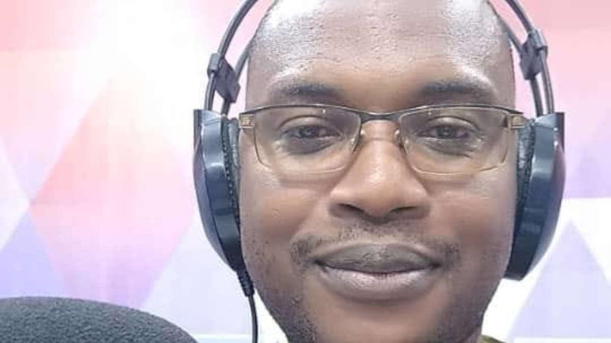 Le journaliste Virgile Ahouansè. Photo DR