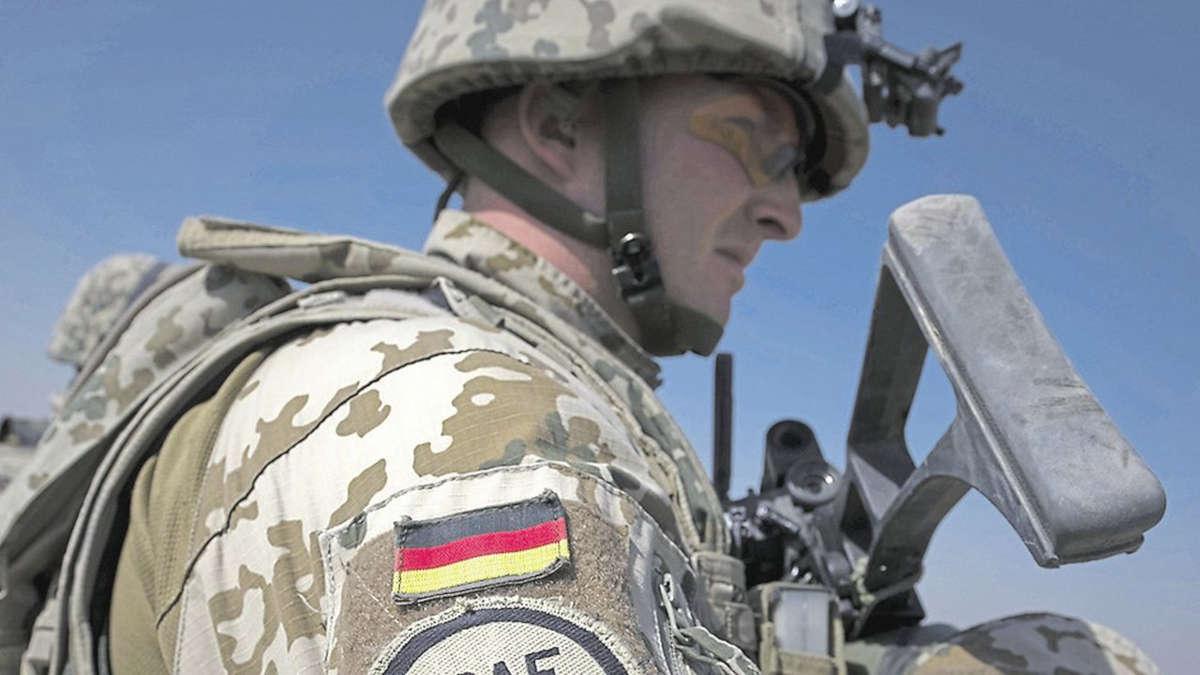Un militaire allemand