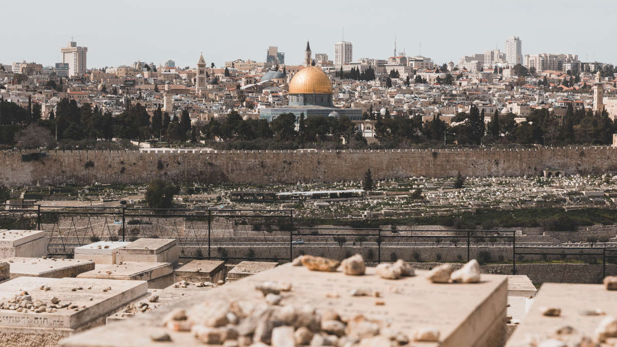 Jerusalem (Photo de Ash _ Ismail - Unsplash)