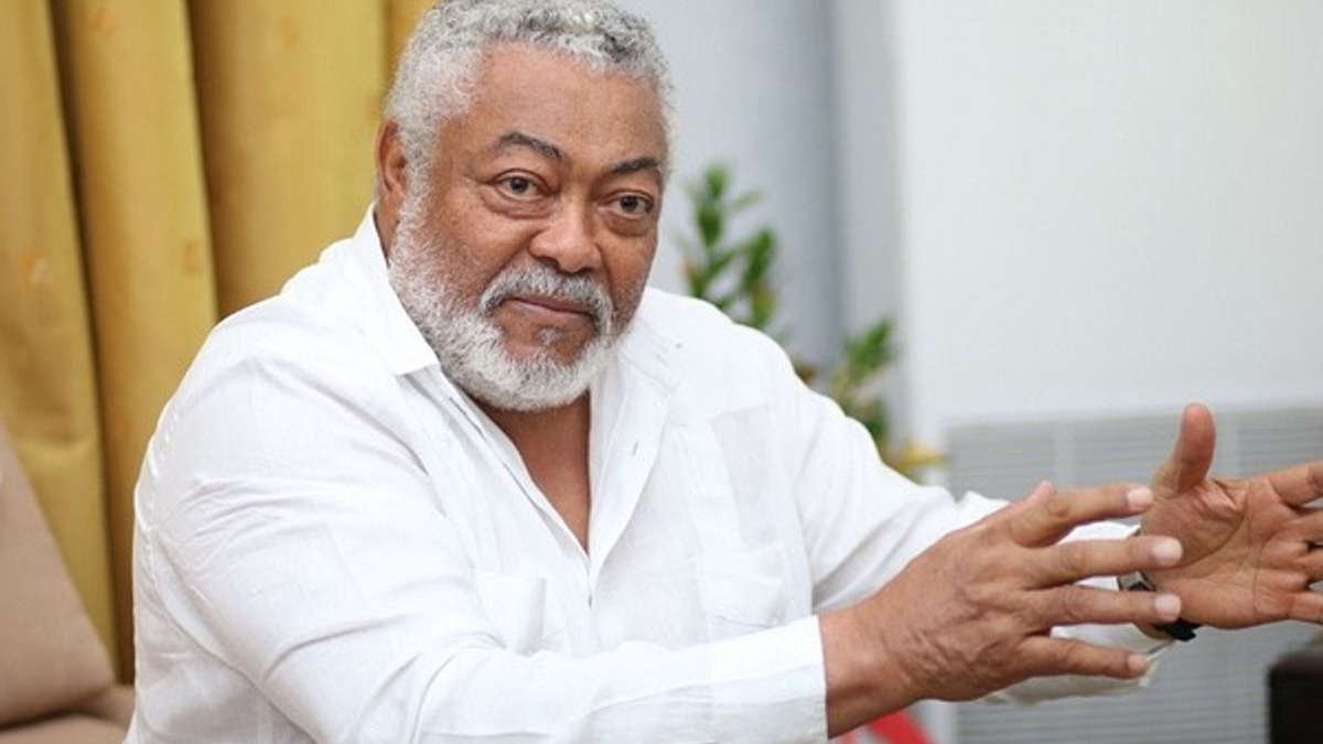John Jerry Rawlings (Photo DR)