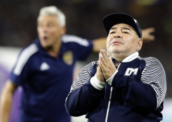 Diego Maradona. Photo Alejandro PAGNI/AFP