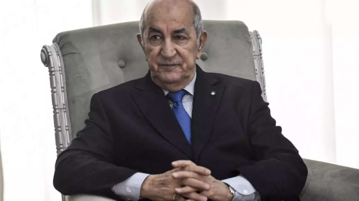 Le président Tebboune (Ryad Kramdi, AFP)