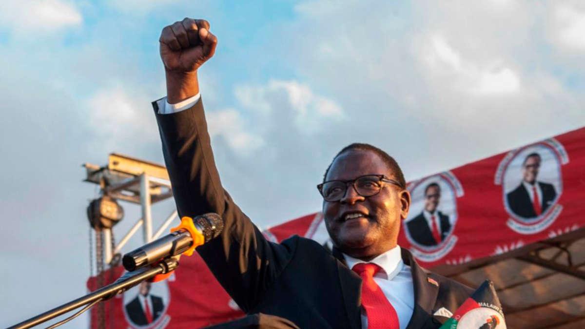Lazarus Chakwera, Président du Malawi (Amos Gumulira. AFP)