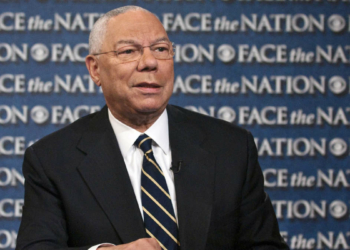 Colin Powell. Photo Mary F. Calvert via AP
