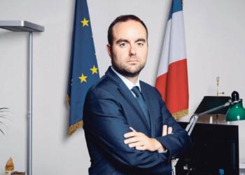 Sébastien Lecornu. Photo Samuel Kirszenbaum