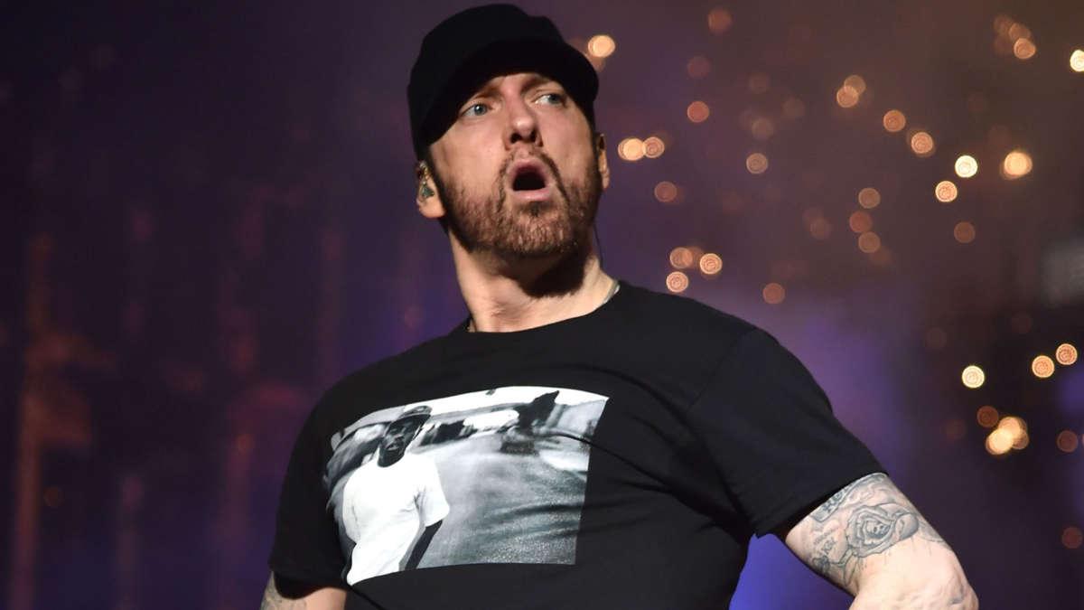 Eminem (KEVIN MAZUR/GETTY IMAGES)