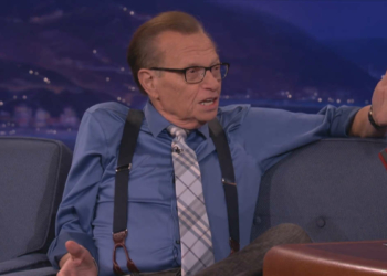 Larry King (Photo tvnz)
