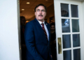 Mike Lindell CEO de My Pillow. Photo : Jabin Botsford/The Washington Post via Getty Images
