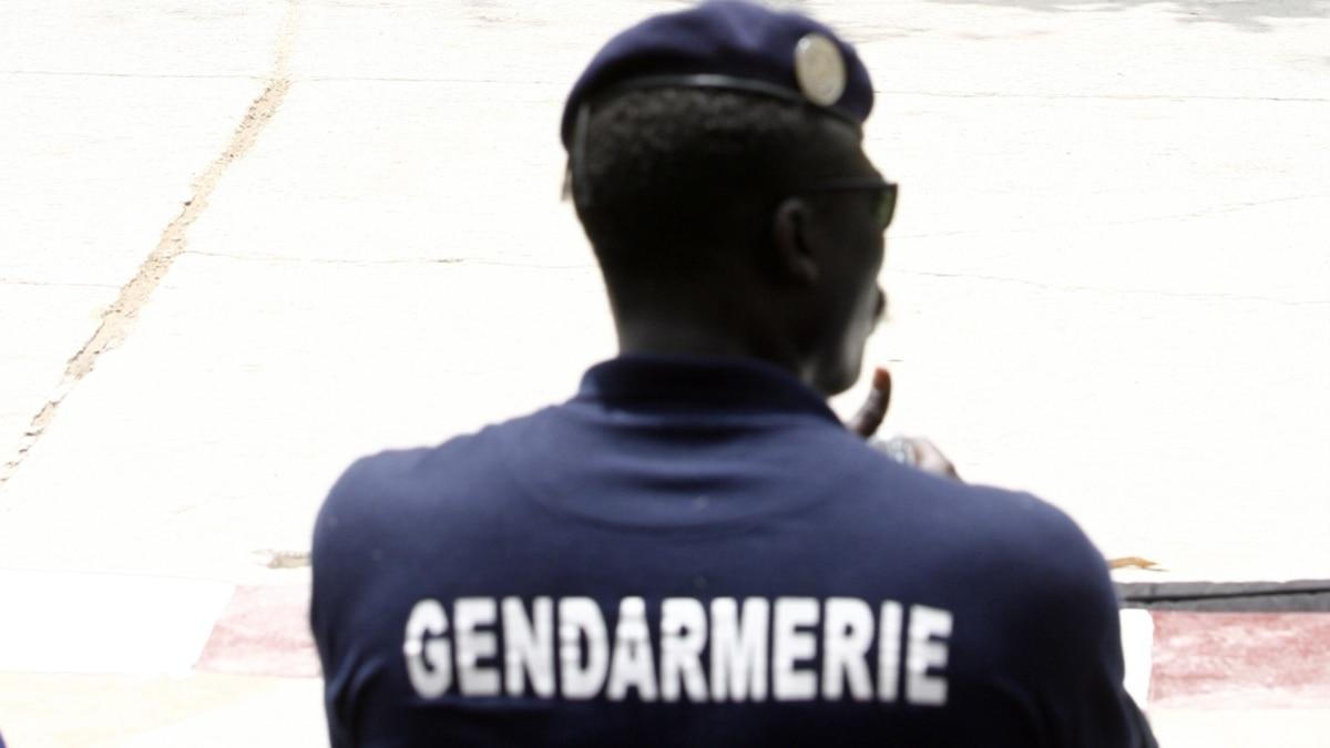 1 gendarme sénégalais - Photo AFP