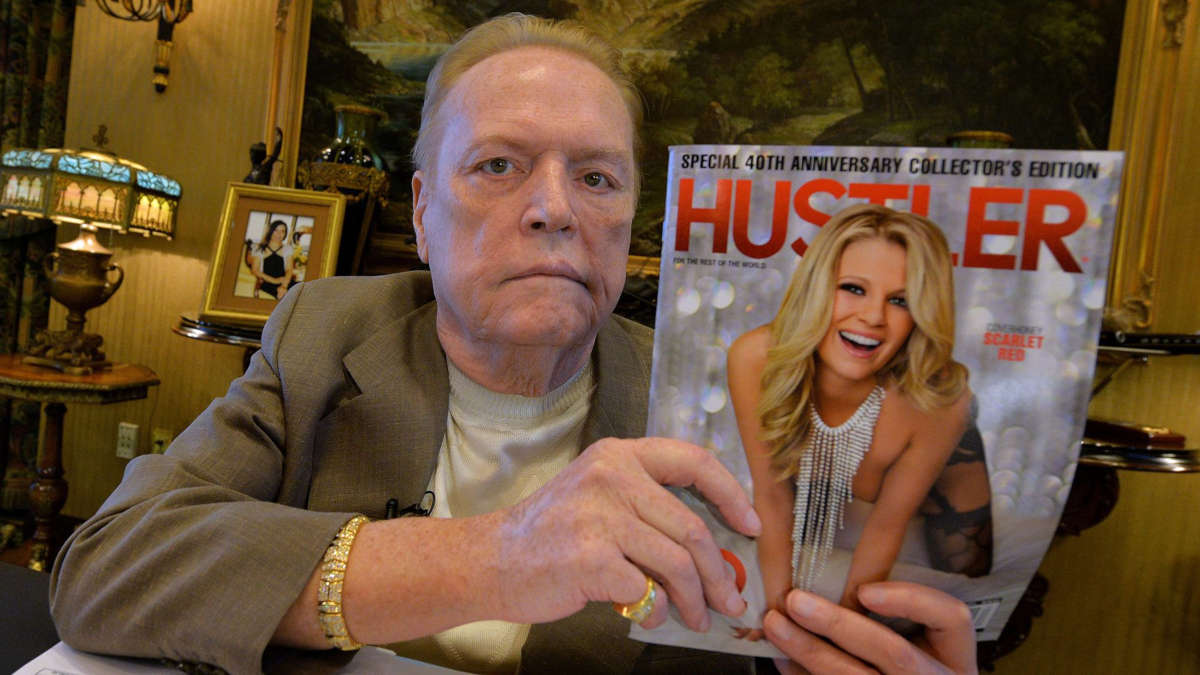 Larry Flynt (Photo Getty Images)