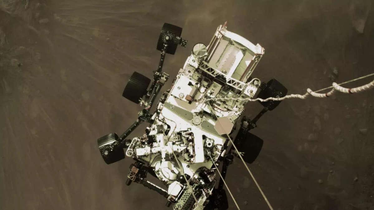 Le robot Perserverance © NASA, AFP