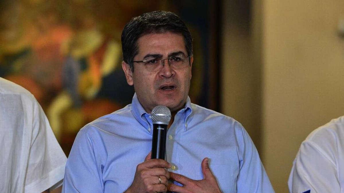 Juan Orlando Hernández. photo : ORLANDO SIERRA AFP VIA GETTY IMAGES