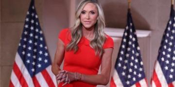 Lara, la femme d'Eric Trump - Photo : CHIP SOMODEVILLA/GETTY IMAGES