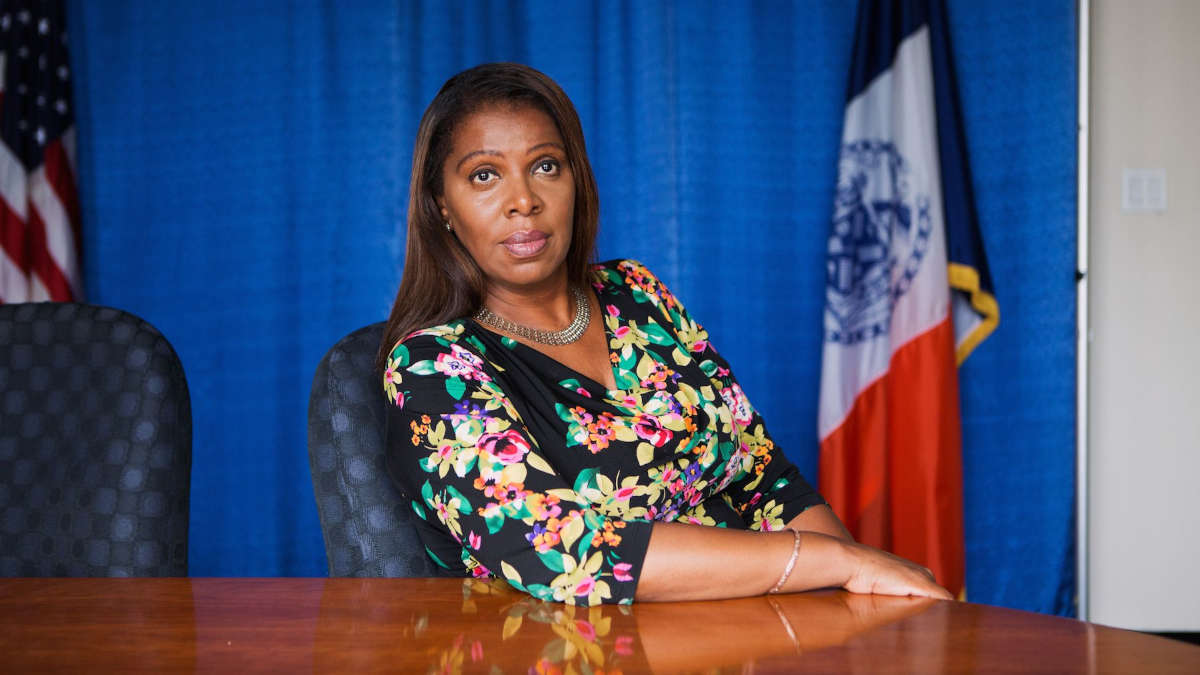 Letitia James - Photo : MARY KANG