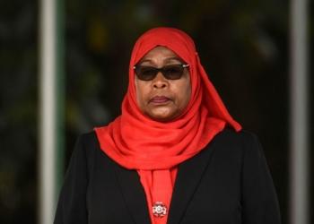 La présidente tanzanienne Samia Suluhu Hassan  - Photo : AFP / Getty Images