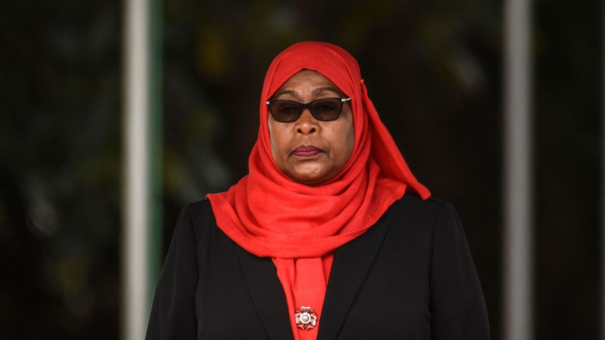 La présidente tanzanienne Samia Suluhu Hassan  - Photo : AFP / Getty Images