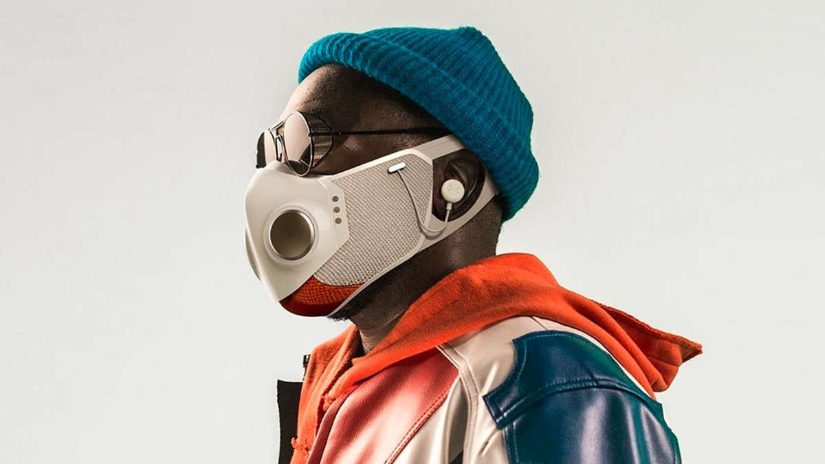 Le masque XUPERMASK de Will I Am - photo DR