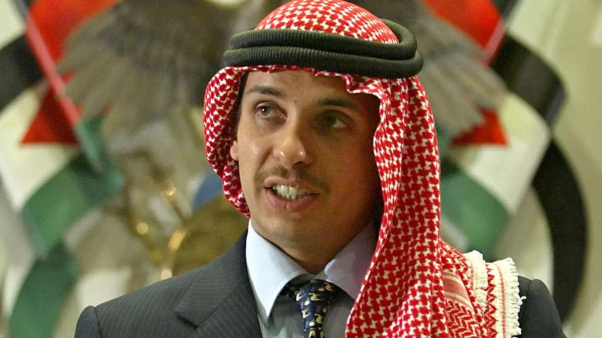 L'ancien prince héritier jordanien Hamza. © Ali Jarekji, Reuters