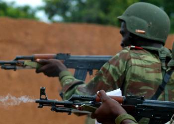 Des soldats béninois pendant l'entraînement (image d'illustration : wikimedia/Domaine public/Jad Sleiman, U.S. Marine Corps)