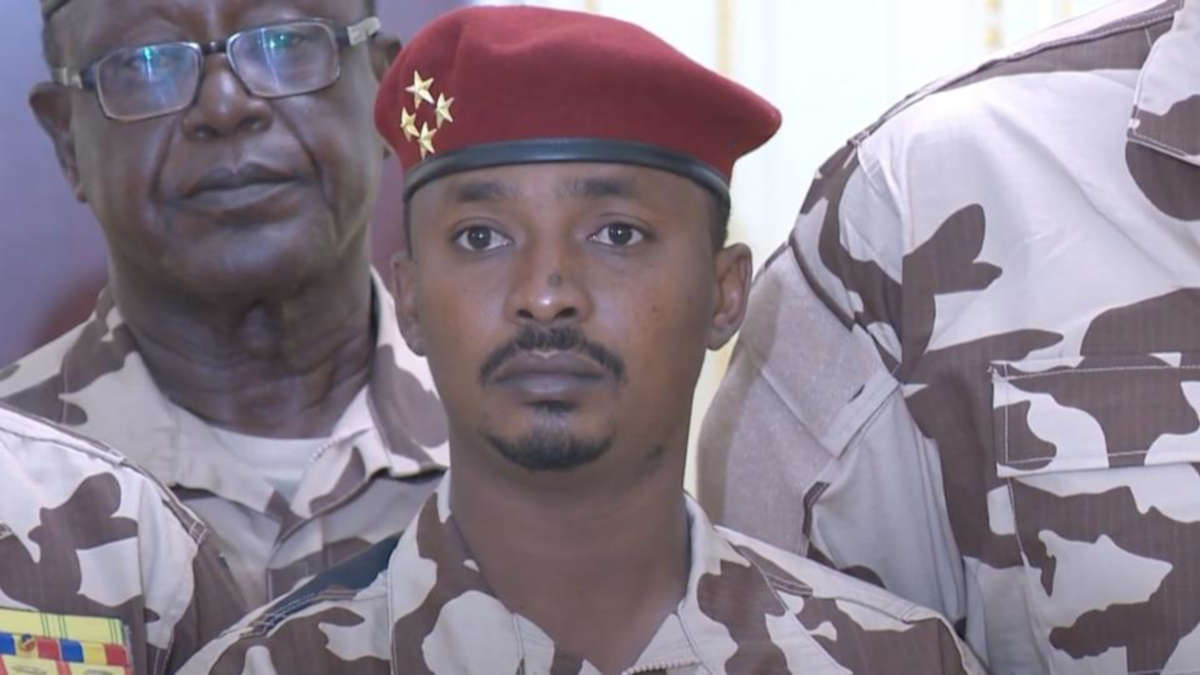 Mahamat Idriss Deby (Photo : TV Tchad)