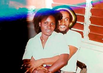 Bob Marley et Pascaline Bongo (Photo DR)