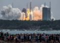 Espace : le 1er module de la station spatiale chinoise lancé