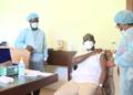 Covid-19 : Talon a reçu sa première dose de vaccin