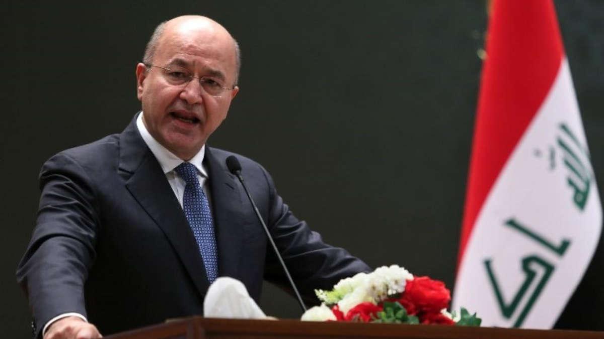 Barham Salih, Président irakien - Photo : DR