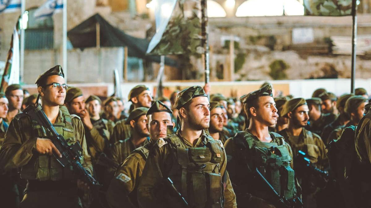 Des soldats israliens (Photo unsplash)
