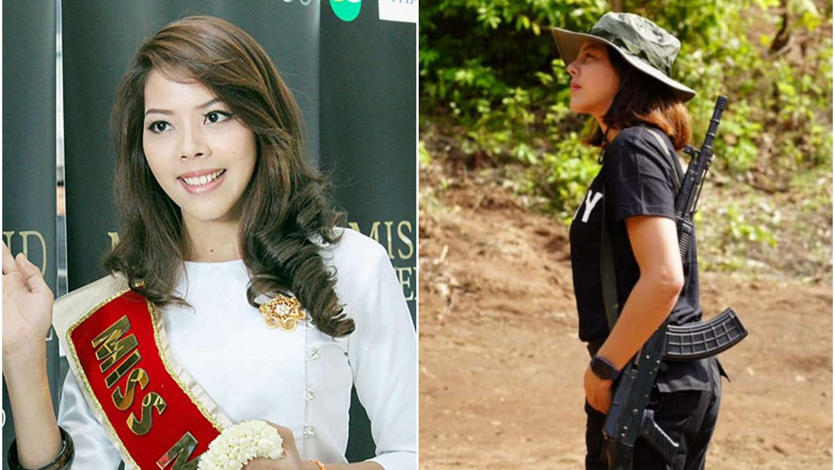 Mme Htar Htet Htet, PHOTOS: AFP / MISS GRAND INTERNATIONAL, HTAR HTET HTET / FACEBOOK