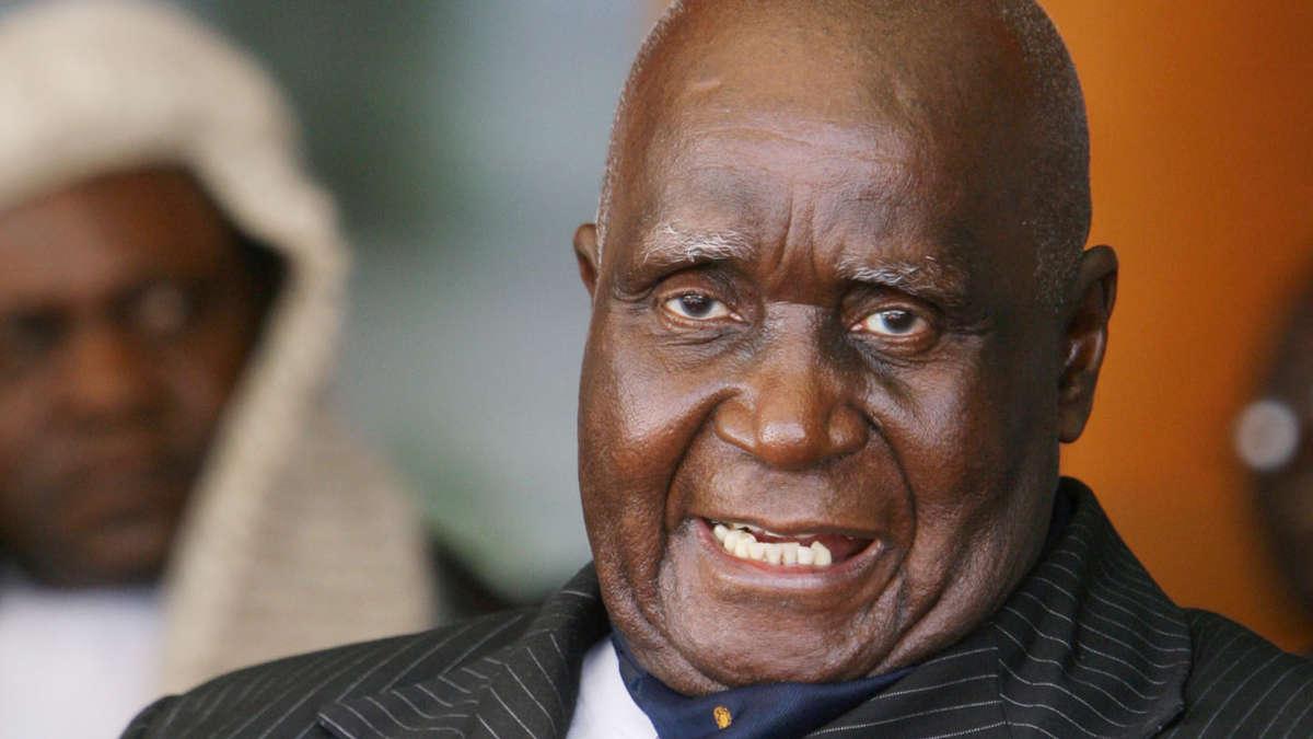 Kenneth Kaunda (AFP PHOTO / ALEXANDER JOE)