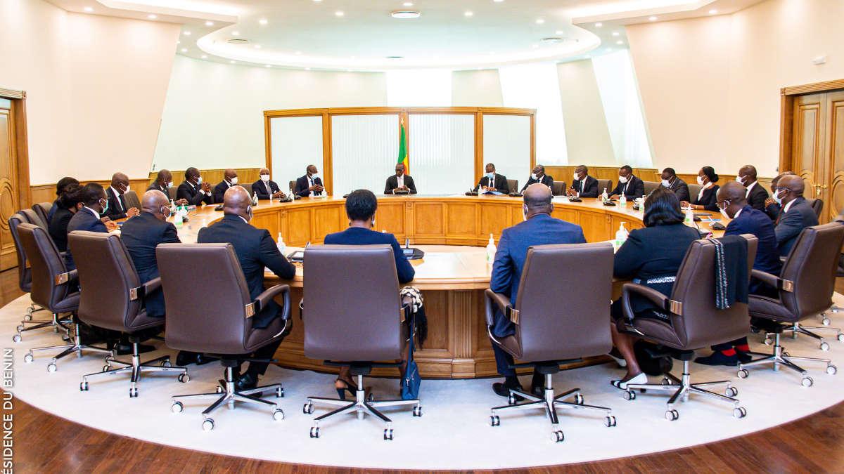 Conseil des ministres, Bénin (Photo Présidence du Bénin)