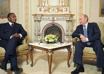 Denis Sassou Nguesso et Vladimir Poutine (Photo Dimitar W.)