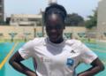 JO: la nageuse béninoise Nafissath Radji finit 6è de sa série en nage libre