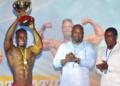 Bénin : Prudence Dossa, grand vainqueur du premier championnat national de bodybuilding