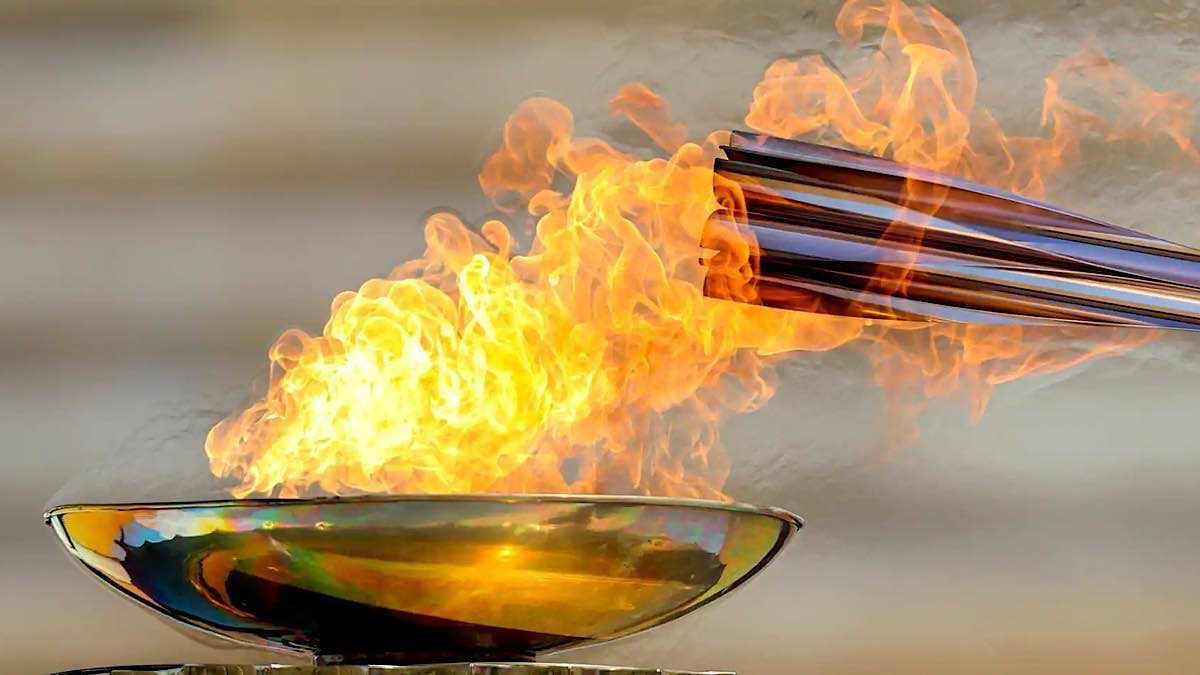 Flamme olympique (photo Shutterstock)