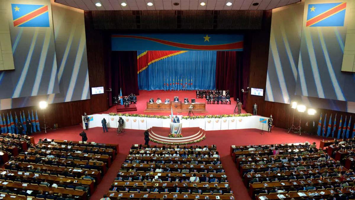 Le parlement congolais. Photo : JUNIOR D.KANNAH / AFP