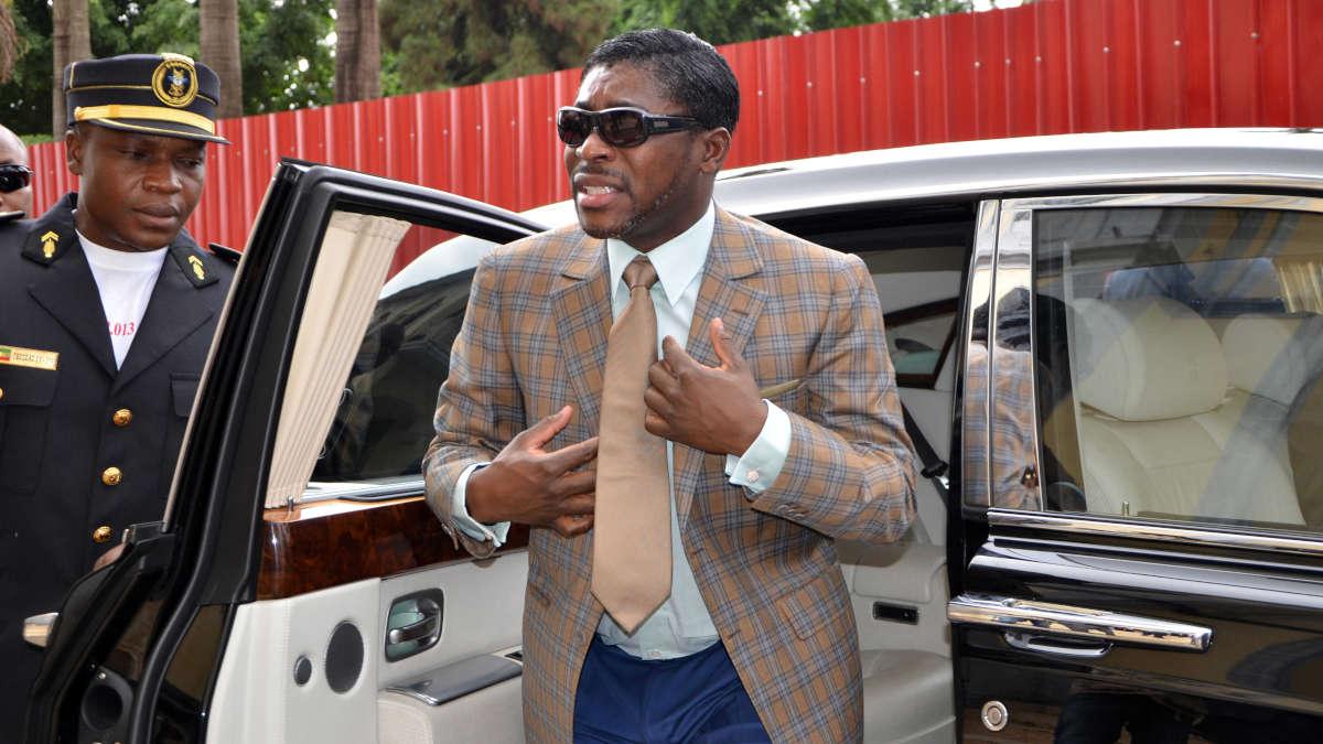Teodorin Obiang (Photo AFP)
