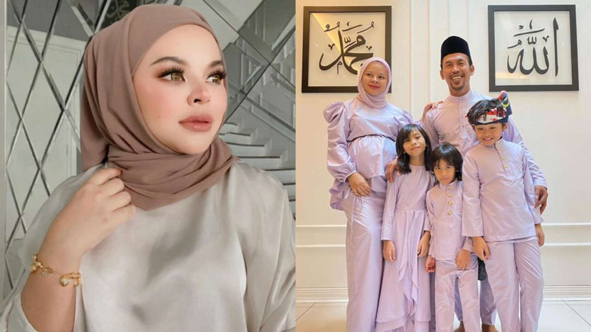 Siti Sarah Raisuddin et sa famille - photo : DR