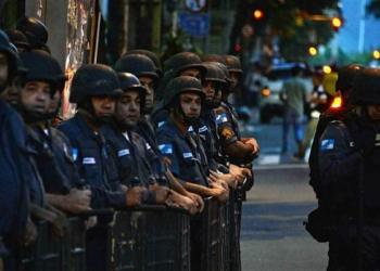 Police brésilienne (AFP / VANDERLEI ALMEIDA)