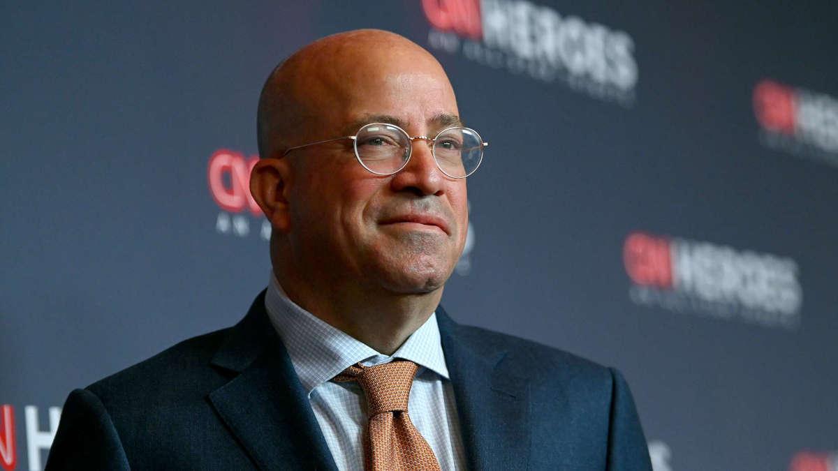 Jeff Zucker, patron de CNN. Photo : Mike Coppola / Getty Images file