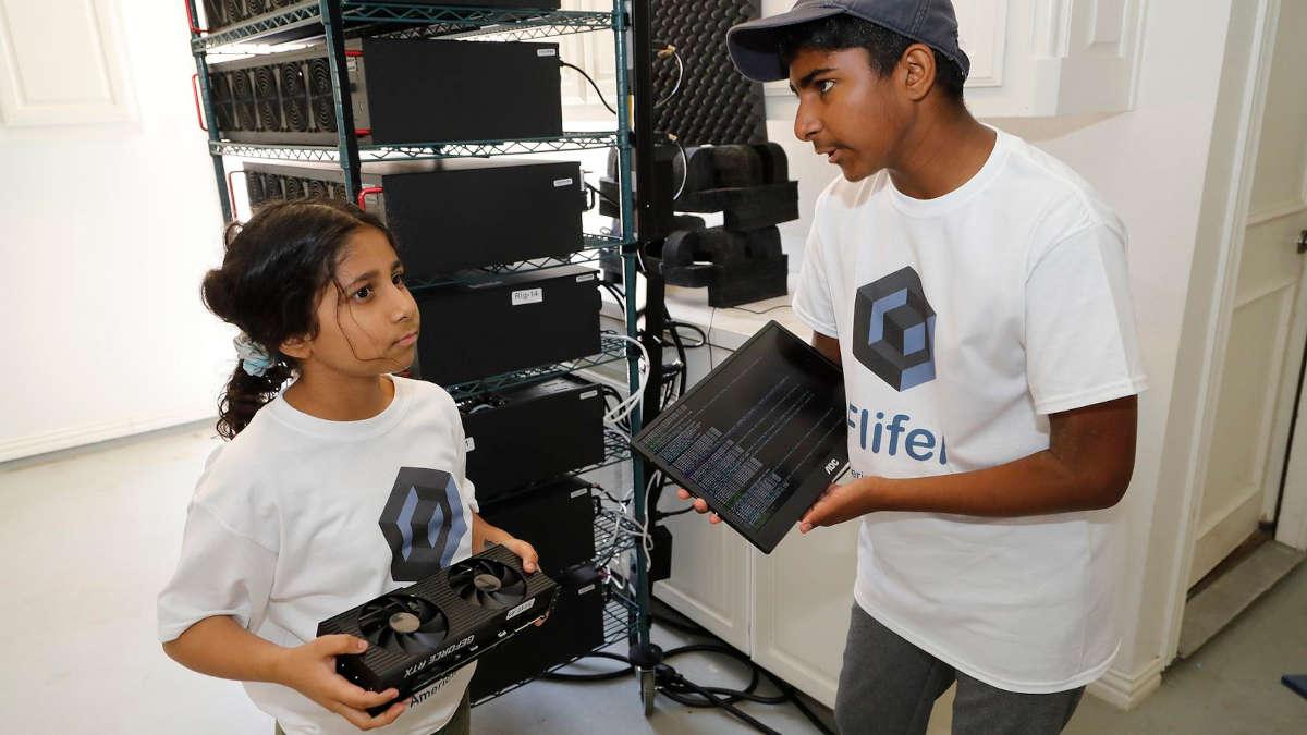 Ishaan et Aanya Thakur - Ph : Dallas News