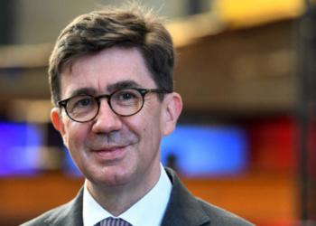 Pierre-Éric Pommellet, PDG de Naval Group. AFP/Fred Tanneau